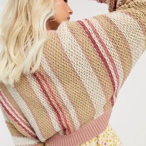 🆕Free People Cotton Blend Sweater